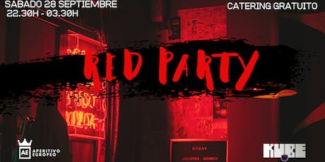 RED PARTY @Kube con entrada y catering gratuito entradas