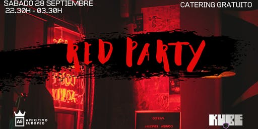 RED PARTY @Kube con entrada y catering gratuito