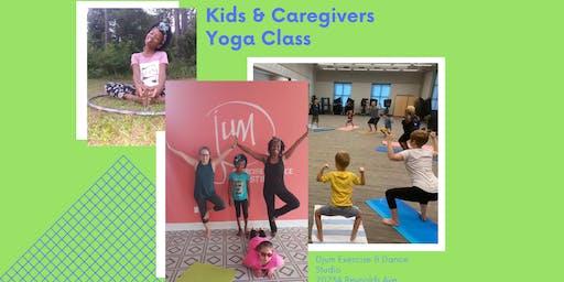 Kids & Caregivers Yoga