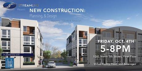 New Construction: Planning & Design tickets