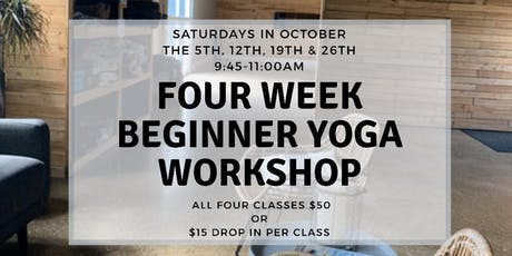 Four Week Beginner Workshop  tickets