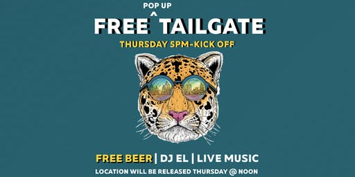 Jags Pop Up Tailgate Party