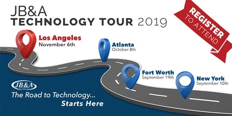 JB&A Technology Tour 2019 | Los Angeles tickets