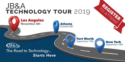 JB&A Technology Tour 2019 | Los Angeles