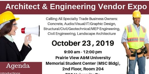 Architect and Engineering Vendor Expo