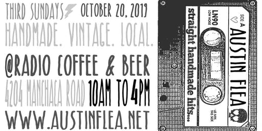 3rd Sundays Austin Flea at Radio Coffee & Beer