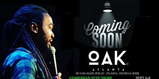 COMING SOON to Oak Comedy Lounge ATL