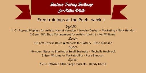 Artist Business Bootcamp: Gift Shop Management for Artists Part 1