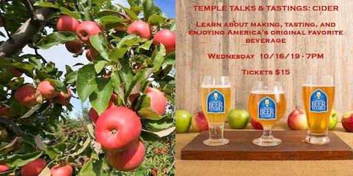 Temple Talks & Tastings: Cider