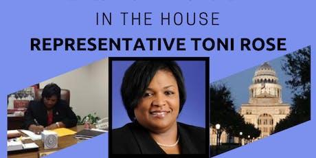 In the House - Representative Toni Rose - Wednesdays Winning Women tickets