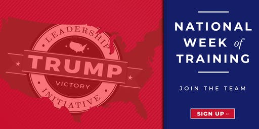 Trump Victory Leadership Initiative Training - Mahoning County, OH