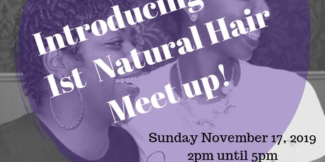 Crown of Love presents our 1st Natural Hair Meet-up!  tickets