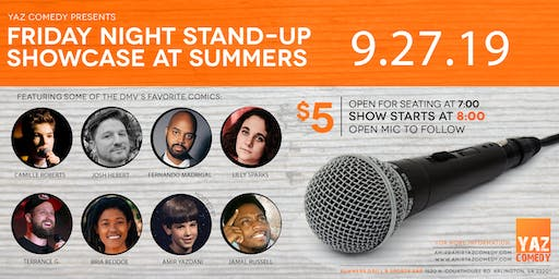 Friday Night Stand-Up Comedy Showcase