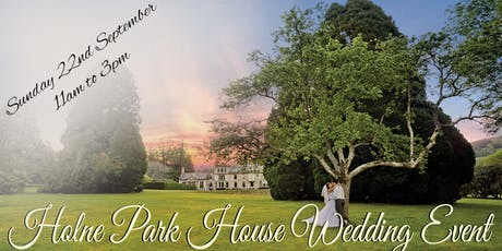 Holne Park House Autumn Wedding Event tickets