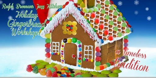 Holiday Gingerbread Workshop- December 21st