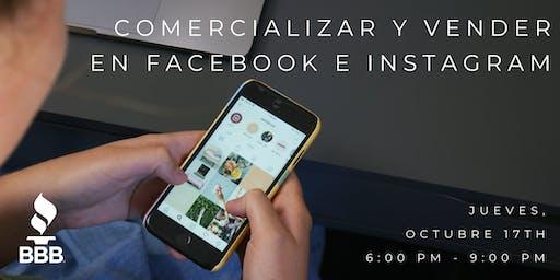Comercializar y Vender en Facebook e Instagram - ¡en Español!