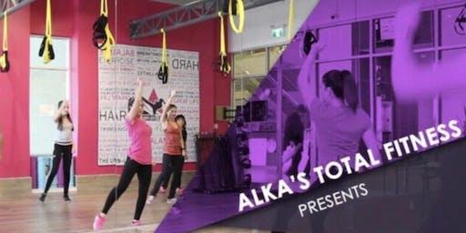 kickboxing class/workout