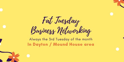 Fat Tuesday on a Wednesday in Dayton on 10/16/19