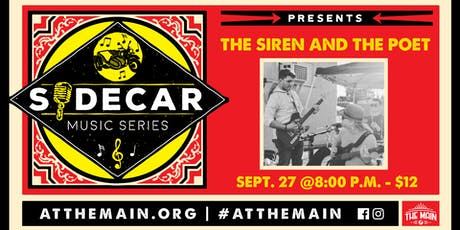 Sidecar Music Series presents: The Siren and the Poet tickets