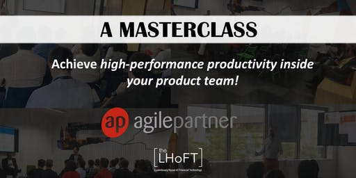 Achieve high-performance productivity inside your product team!