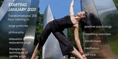 200 hour Mindful yoga teacher training
