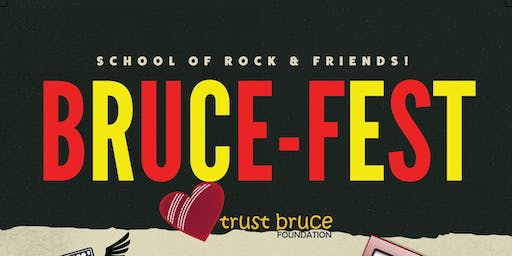 "Bruce-Fest 2019 - Fundraiser For ""Trust Bruce"" Charity."