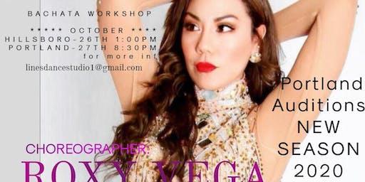 Ladies Bachata Workshop by Roxy Vega 201 And Ladies Bachata team
