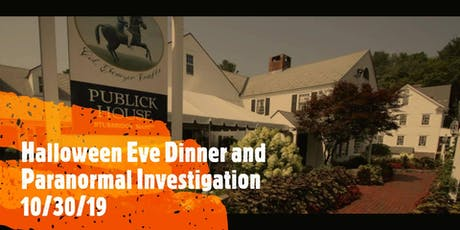 Dining With The Dead1031 Dinner & Paranormal Investigation! tickets