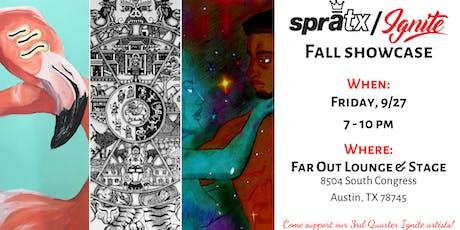 SprATX Annual Fall Showcase tickets