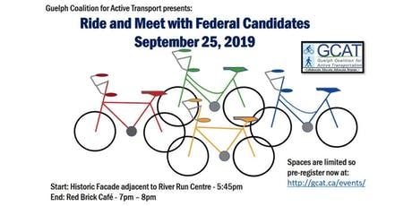 Ride and Meet with Guelph Federal Candidates tickets