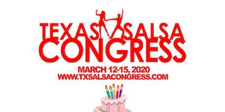 Sweet 16 Birthday Sale: Texas Salsa Congress 16th Year Anniversary tickets