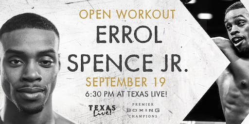 Errol Spence Jr. Open Workout