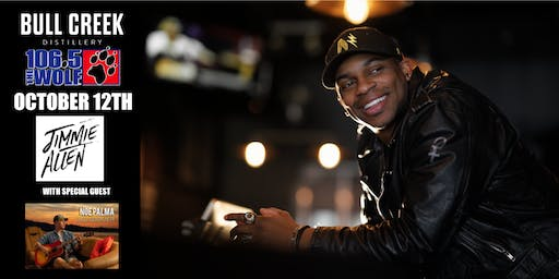 Jimmie Allen LIVE at Bull Creek Distillery with special guest Noe Palma