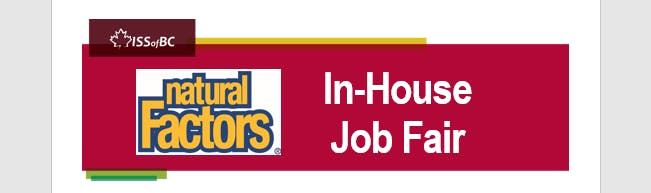 Natural Factors In-House Job Fair