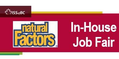 Natural Factors In-House Job Fair