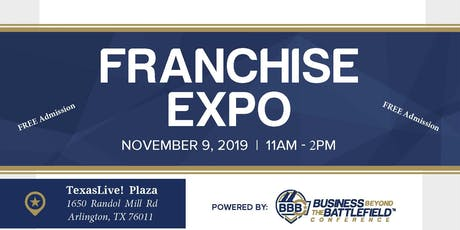 #NVSBW19 Franchise Expo tickets