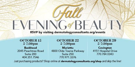 Fall Evening of Beauty (Covington) tickets