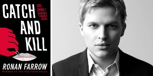 Ronan Farrow at Back Bay Events Center