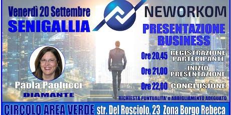 Presentazione business meeting biglietti