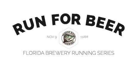 Beer Run - Tarpon River Brewing | 2019-2020 Florida Brewery Running Series tickets