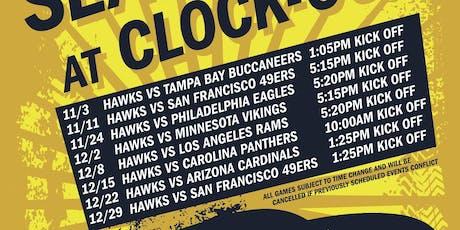 Seahawks vs.49ers tickets