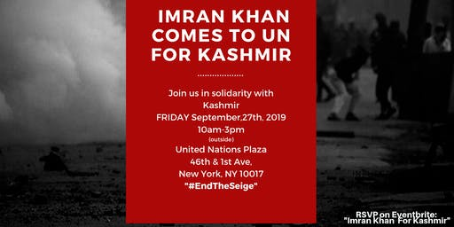 Imran Khan for Kashmir