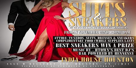 Suits & Sneaker Scholarship Ball tickets