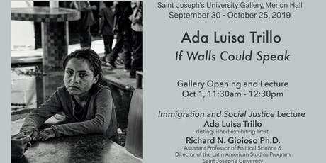 If Walls Could Speak: An Exhibition on Immigration and Human Rights tickets