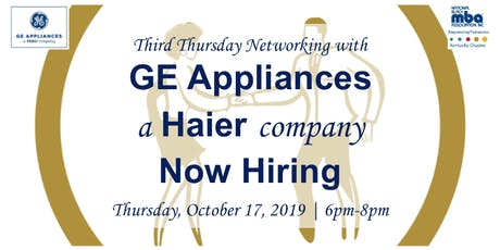 Third Thursday Networking with GE Appliances tickets