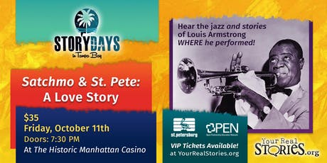 Satchmo & St. Pete: A Love Story tickets