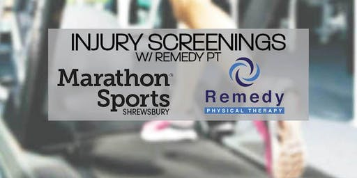 Injury Screenings with Remedy PT