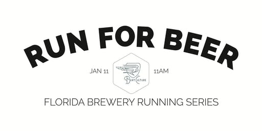 Beer Run - Beat Culture Brewery | Part of the 2019-2020 Florida Brewery Running Series