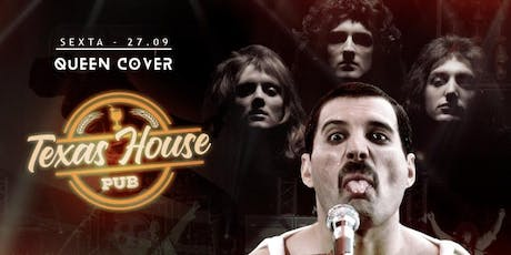 Queen Cover no Texas House Pub! em Bragança! tickets