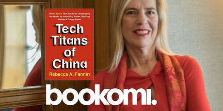 BOOKOMI X CONDUIT: Tech Titans of China with REBECCA FANNIN tickets